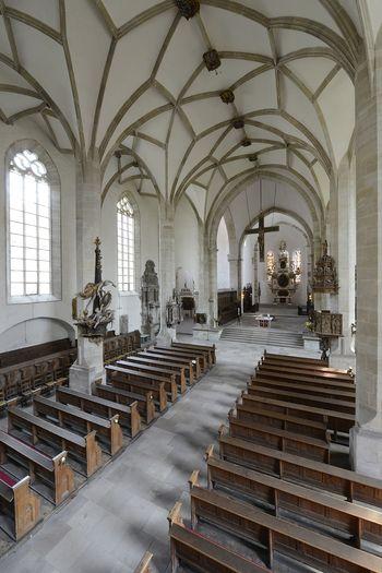 Abb. 1: Blick in den Merseburger Dom. © Holger Kupfer.