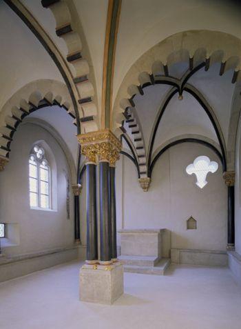 Abb. 2: Doppelkapelle des Schlosses Neuenburg. © Landesamt für Denkmalpflege und Archäologie Sachsen-Anhalt, R. Ulbrich.