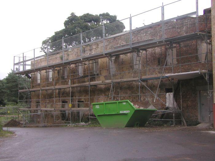Abb. 1: Die Anlage auf dem Zuckerberg während der Vorbereitung der Sanierung. © Landesamt für Denkmalpflege und Archäologie Sachsen-Anhalt.