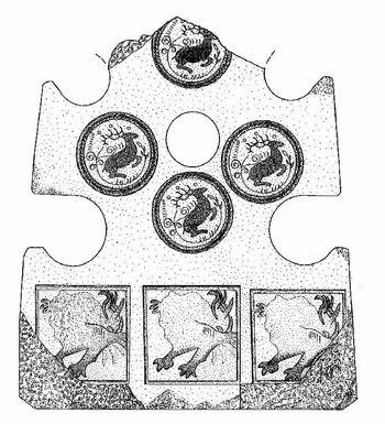Abb. 9: Bratspießhalter aus Regensburg, erhaltene Höhe 26,4 Zentimeter. Endres 2002, Abb. 1c.