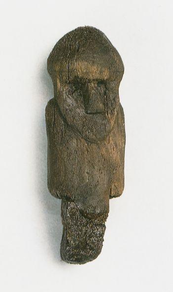 Abb. 4: Holzidol. Wolin (Powiat Kamień Pomorski). Filipowiak 2001a.