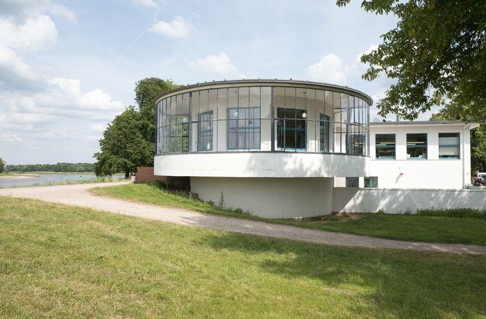 Abb. 1: Das Kornhaus von außen. © Landesamt für Denkmalpflege und Archäologie Sachsen-Anhalt.