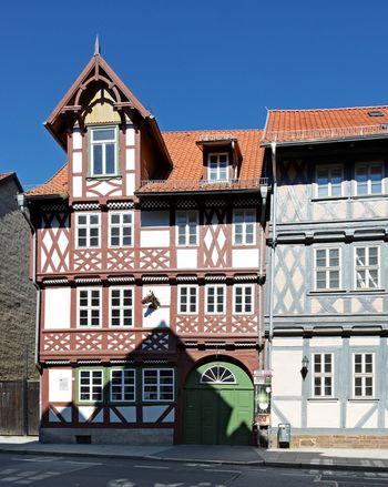 Abb. 2: Außenansicht der Krellschen Schmiede in Wernigerode. © Landesamt für Denkmalpflege und Archäologie Sachsen-Anhalt.