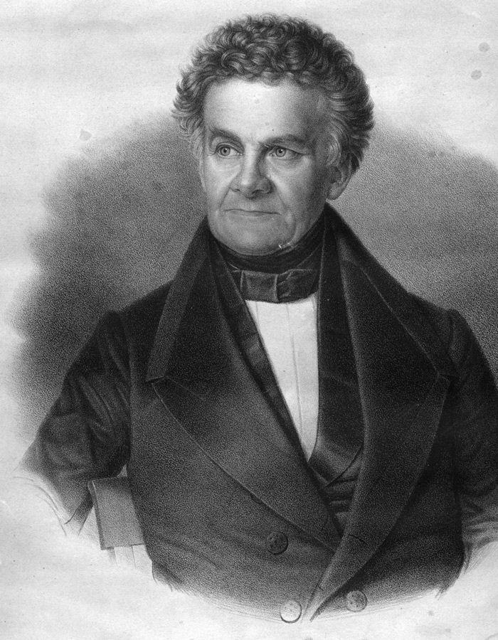 Abb. 3: Johann Friedrich Danneil, Erforscher der Großsteingräber. © Archiv Johann-Friedrich-Danneil-Museum Salzwedel.