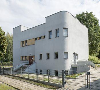 Abb. 1: Vorderansicht des Hauses Krojanker. © Landesamt für Denkmalpflege und Archäologie Sachsen-Anhalt.