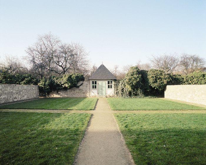 Abb. 2: Ein Stiftsdamen-Garten mit dazugehörigem Gebetshaus. © Landesamt für Denkmalpflege und Archäologie Sachsen-Anhalt, R. Ulbrich.