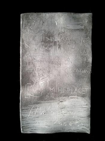 Abb. 3: Übersichtsaufnahme der Tafel B, die besonders gut erhalten ist. © Landesamt für Denkmalpflege und Archäologie Sachsen-Anhalt.