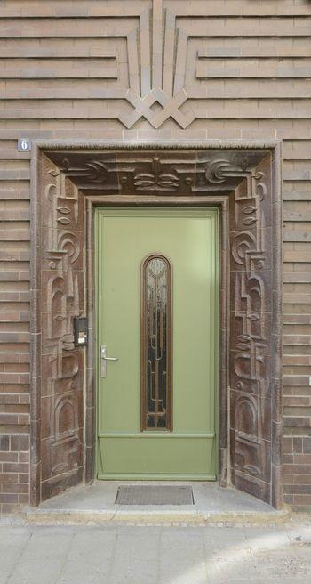 Abb. 3: Historisch erhaltener Eingangsbereich. © Landesamt für Denkmalpflege und Archäologie Sachsen-Anhalt, Gunnar Preuß.