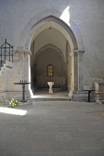 Abb. 1: Blick in die Taufkapelle. © Landesamt für Denkmalpflege und Archäologie Sachsen-Anhalt, Heiko Brandl.
