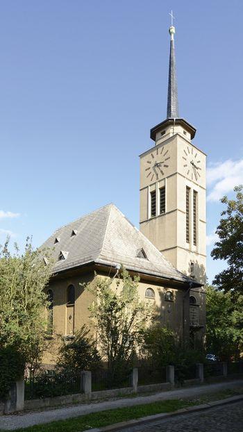 Abb. 1: Außenansicht der Lutherkirche in Weißenfels. © Landesamt für Denkmalpflege und Archäologie Sachsen-Anhalt.
