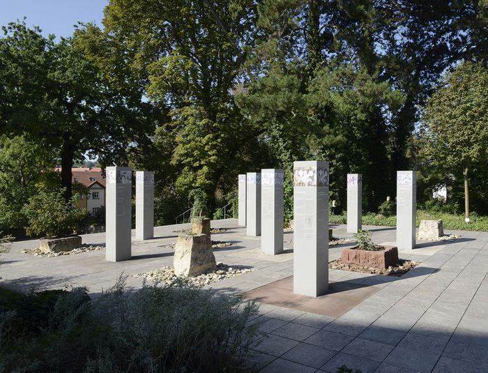 Abb. 2: Der »Garten des Naumburger Meisters«. © Landesamt für Denkmalpflege und Archäologie Sachsen-Anhalt, Gunnar Preuß.