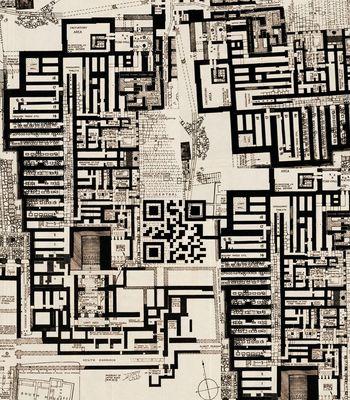 Abb. 4: Die Palastanlage von Knossos. Evans 1923.