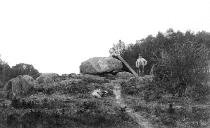 Abb. 8: Das Bülitzer Hünengrab um 1890. © Archiv Johann-Friedrich-Danneil-Museum Salzwedel.