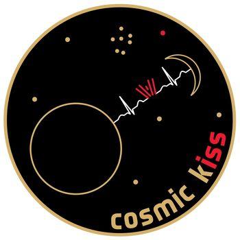 Das Logo der ESA-Mission ›Cosmic Kiss‹. © ESA.