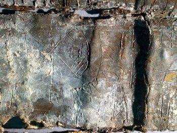 Abb. 3: Siegeldarstellung auf der Innenfläche des Täfelchens. © Landesamt für Denkmalpflege und Archäologie Sachsen-Anhalt, Juraj Lipták.